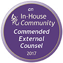 Commended Counsel 2017