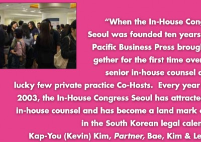Bae Kim Lee inhouse Community Testimonial