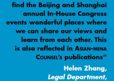 Helen Zhang SinoChem Inhouse Community Testimonial
