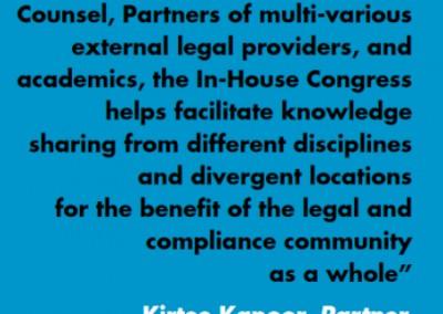 Kirtee kapoor Inhouse Community Testimonial
