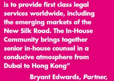 Latham & Watkins In-House Community Testimonial