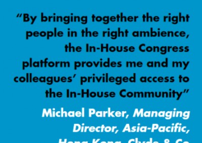 Michael Parker Clyde Co Inhousecommunity Testimonial