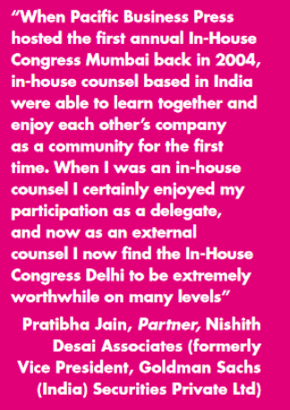 Nishith Desai Associates in-House Community Testimonial