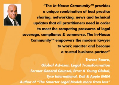 Trevor Faure In-house Community