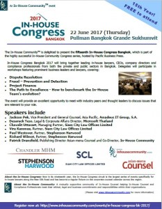 Bangkok invite