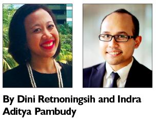 Dini Retnoningsih and Indra Aditya Pambudy