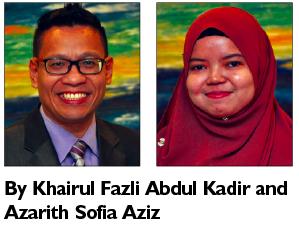 Khairul Fazli Abdul Kadir and Azarith Sofia Aziz