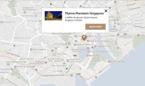 SG hotel map