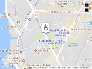mumbai 2017 - map