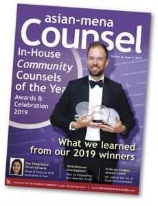 Asian-mena Counsel Counsels of the Year 2019 Cover