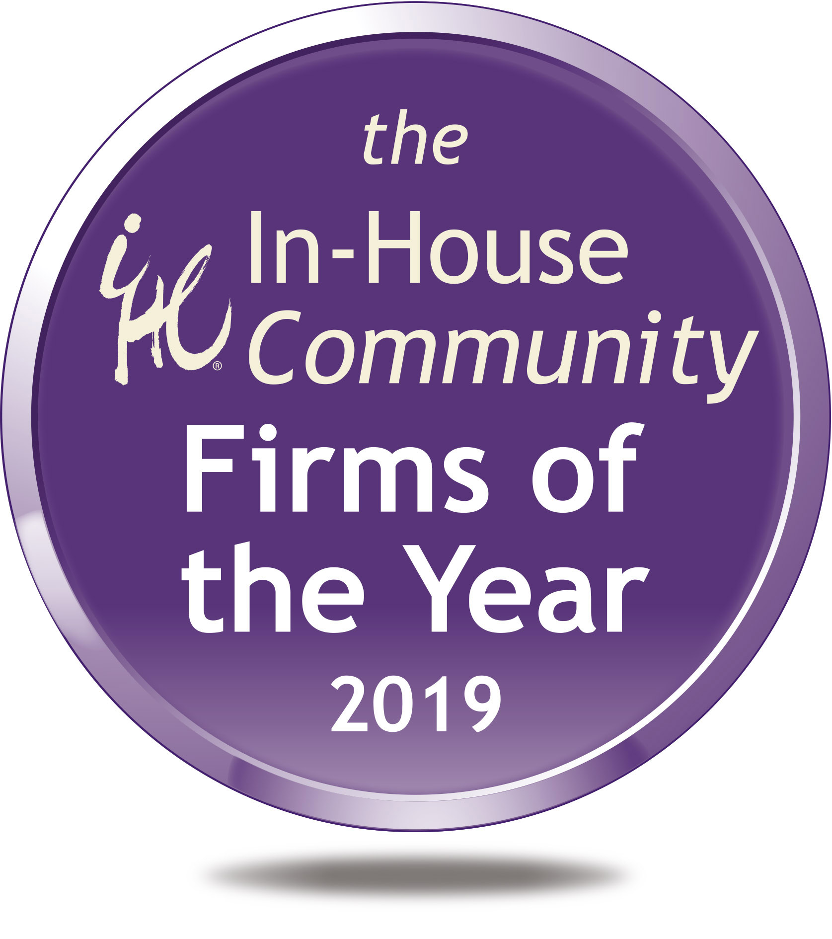 FOTY Logo - the Firms of the Year 2019 (Shadow) RGB