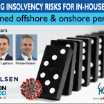 Webinar Graphic - Navigating insolvency risks for in-house counsel
