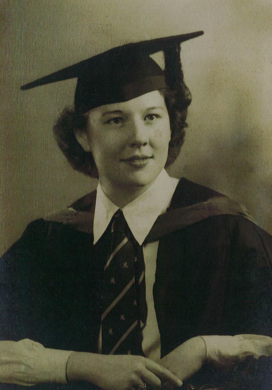 Patricl's Mum graduation