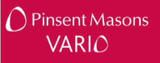Pinsent Mason's Vario
